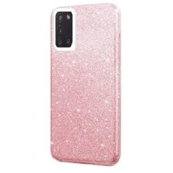 Samsung Galaxy S20 FE Skal - Glitter Rosa