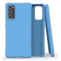 Samsung Galaxy S20 FE Skal Silikon Ljusblå