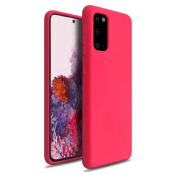 Samsung Galaxy S20 FE Skal Silikon Rosa