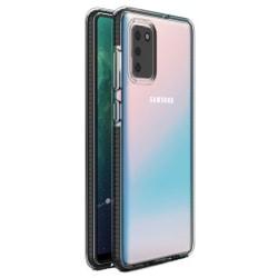 Samsung Galaxy S20 FE - Skal Transparent med Svart Ram