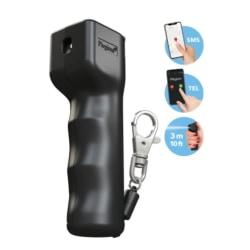 Självförsvarsspray Smart Mini Svart Med Positions-SMS