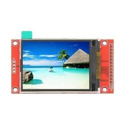 2.4 Tums ILI9341 SPI 320 x 2 SPI TFT LCD Touch Skärm Modul Raspb