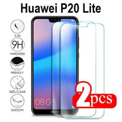 2-Pack Huawei P20 Lite Härdat glas /Skärmskydd