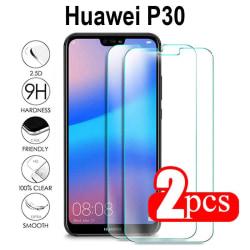 2-Pack Huawei P30 Härdat glas /Skärmskydd Transparent