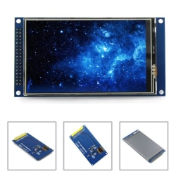 3.97 Tums 800 x 480 Ultra HD 8/16/24  Bits LCD TFT Touch Skärm O