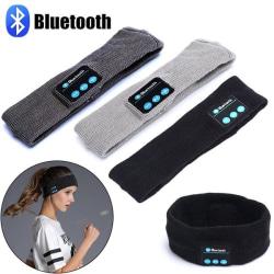 Bluetooth Pannband Sovhörlurar Hörlurar Trådlös / Trådlösa Svart one size