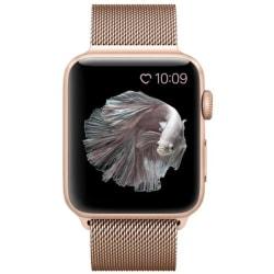 Klockarmband Apple Watch 1/2/3/4/5/6/SE Armband Milanese 38/40 - Guld