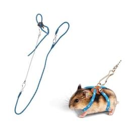 Koppel Hamster Hamsterkoppel Blått Blå
