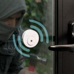 Larm Rörelsedetektor för Fönster
