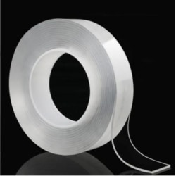 Magic Nano Tape / Elastisk Tejp - 3 meter Transparent
