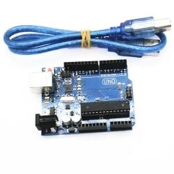 MEGA328P ATMEGA16U2 ATMEGA328P-PU UNO Arduino Klon + USB C kabel