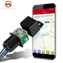 Micodus Mini GPS Tracker MV720 Spårenhet Slå av Bränsle i Bil An Svart