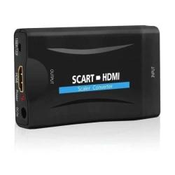 Scart till HDMI omvandlare 1080P Svart