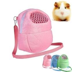 Väska Bärväska Hamster Chinchilla Marsvin Rosa Rosa