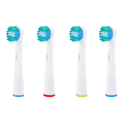 32x Precision Clean OralB Kompatibla Tandborsthuvuden SB-17A Vit