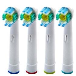 3D White Tandborsthuvuden OralB Kompatibla 16x EB-18A Vit