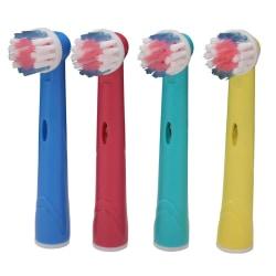 Oral-B kompatibla tandborsthuvuden | Tandborste Refill 8x EB-17A multifärg