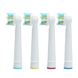 Tandborsthuvuden Oral B Kompatibla Floss Action 8x EB-25A Vit