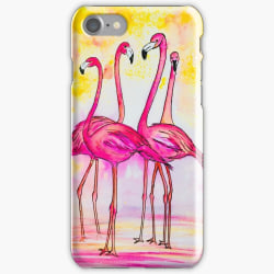 Skal till iPhone 5/5s SE - Flamingo