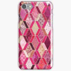 Skal till iPhone 6 Plus - Wild Pink & Pretty Diamond