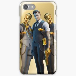 Skal till iPhone 8 - Gold Midas Fortnite