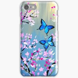 Skal till iPhone 8 Plus - Fjärilar