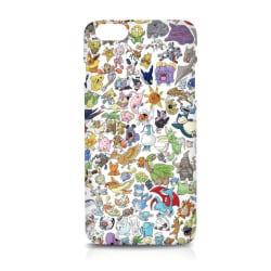 WEIZO Skal till iPhone 6/6s - Olika Pokémon