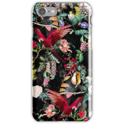 WEIZO Skal till iPhone 7 - Papegoja Djungel Design