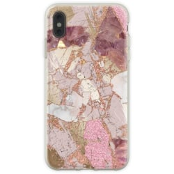WEIZO Skal till iPhone Xs Max - GOLDEN BLUSH MARBLE