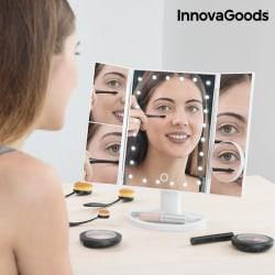 4 i 1 Förstoringsspegel Sminkspegel Med LED Ljus – smink spegel