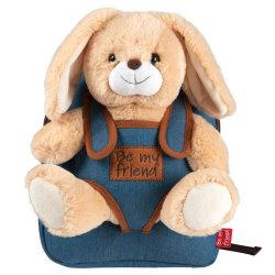 Bob Bunny Ryggsäck Med Leksak – Skolväska Barn