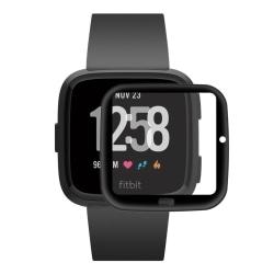 HAT PRINCE Heltäckande Skärmskydd Fitbit Versa 2 Svart