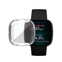 HAT PRINCE Heltäckande TPU Skal Fitbit Versa 3/Sense Transparent