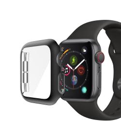Heltäckande Skal Apple Watch 44mm Svart Ram