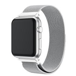 Milanese Loop Armband Apple Watch 38/40mm Silver