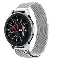 Milanese Loop Armband Samsung Galaxy Watch 46mm Silver