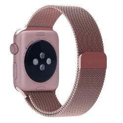 Milanese Loop Metallarmband Apple Watch 42/44mm Rosa