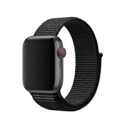Nylonarmband Apple Watch 38/40mm Svart