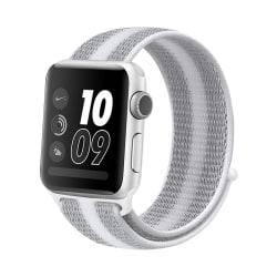 Nylonarmband Apple Watch 42/44mm Grå/Vit