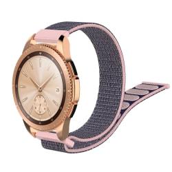 Nylonarmband Samsung Galaxy Watch 42mm/Active Grå/Rosa