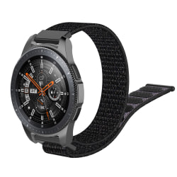 Nylonarmband Samsung Galaxy Watch 46mm Svart