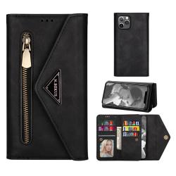 Plånboksfodral iPhone 12 Pro Max Svart