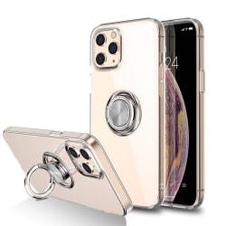 Skal Med Ringhållare iPhone 12/12 Pro Transparent