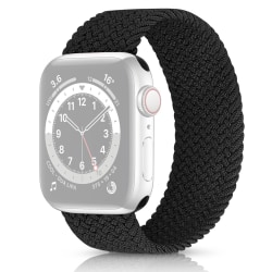 Solo Loop Flätad Armband Apple Watch 38/40mm Svart