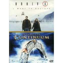 Arkiv X: I Want To Believe / Stargate: Continuum - DVD