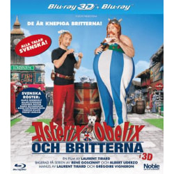 Asterix & Obelix Och Britterna - Bluray + Real 3D