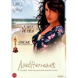 Mediterraneo  -DVD  -  Norskt Omslag