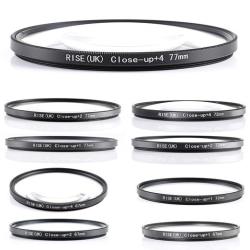 +1 +2 +4 MAKRO filter 67-77 mm. Välj filter i listan! svart