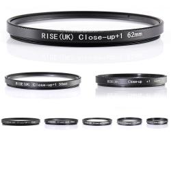 +1 MAKRO filter 40.5 - 62 mm. Välj storlek i listan! Svart 40,5 mm