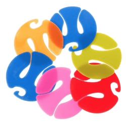 10 pack strumphållare som håller ordning på dina par flera olika färger